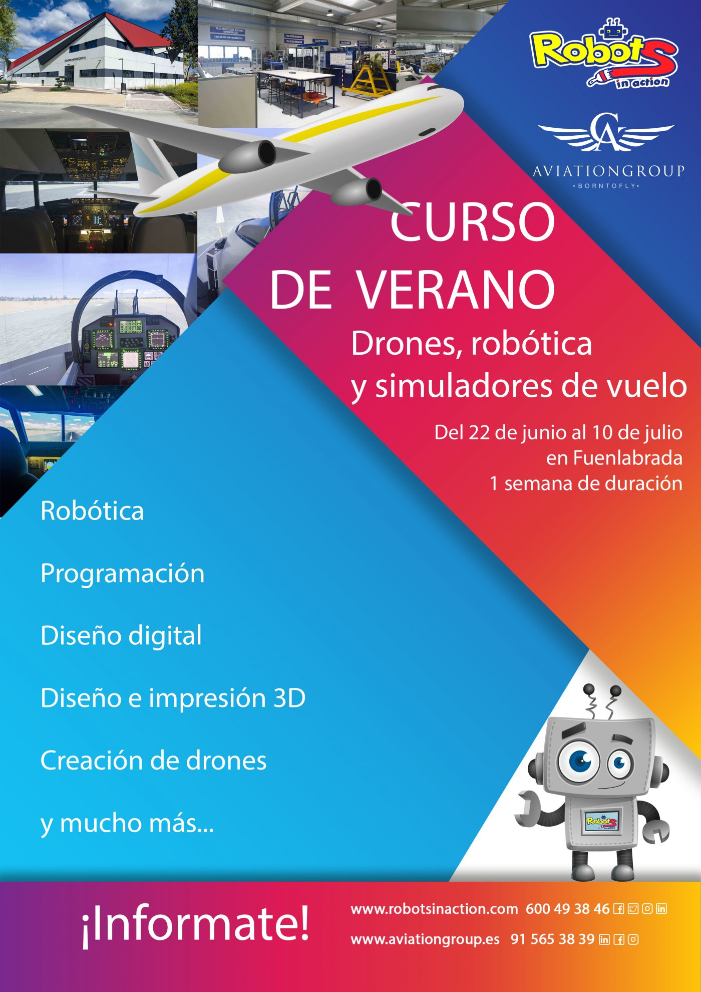 Robots in Action y Aviation Group